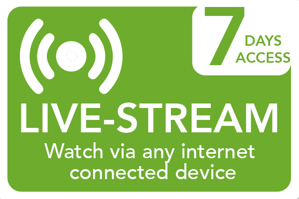 Live-streamed course. Watch at home, at school or on the go.