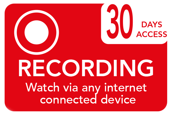 Recording course. Watch at home, at school or on the go.